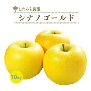 シナノゴールド 10kg 24玉〜36玉 贈答用 秀品 岩手県産 完熟 りんご めぐり菜 送料無料 林檎