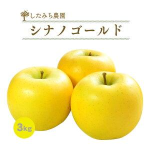 シナノゴールド 3kg 7玉〜10玉 贈答用 秀品 岩手県産 完熟 りんご めぐり菜 送料無料 林檎