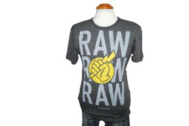 ジースターロウ G-STAR RAW 半袖Tシャツ グレー84230F メンズ 夏物 ジースターロゥ