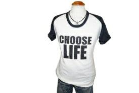 ◆新品 ハムネット 半袖Tシャツ ラグラン白黒 L■b052343