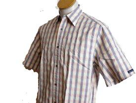美品 ◆ ポールスミス 半袖シャツ ピンク 縦縞 サイズS ◆