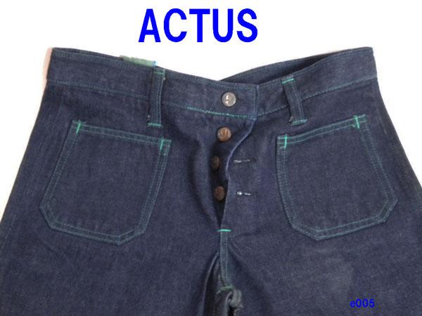美品 ◆ ACTUS ヴィンテージ ジーンズ  ◆e005
