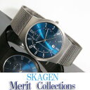 おススメ!人気です! *送料無料*!スカーゲン ウルトラスリム 腕時計 SKAGEN ウルトラスリム チタン 腕時計 233X…