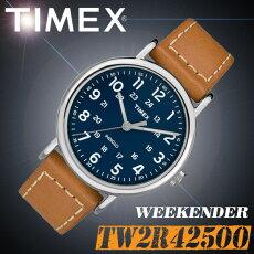 TIMEX【TW2R42500】WEEKENDER40MENS40mm径タイメックスウィークエンダーセパレートストラップメンズクォーツ腕時計タンブラウン茶レザーベルト並行輸入【新品】『宅配便』で全国*送料無料*
