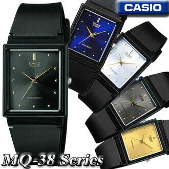 Casio CASIO standard analog quartz watch MQ-38-1 A, MQ-38-2 A, MQ-38-7 A, MQ-38-8 A, MQ-38-9 A Standard Analog Quartz women unisex size
