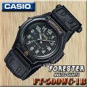 在庫有り!即納可『宅配便』で全国*送料無料*【あす楽対応】CASIO FT-500WC-1B カシオ FORESTER フォレスター STAND…