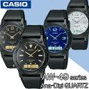 在庫有り!即納可【あす楽対応】CASIO AW-49HE Series カシオ Ana-Digi アナデジ Quartz 腕時計【AW-49H-1B】【AW-49H…