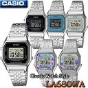 CASIO LA680WA-1,LA680WA-1B,LA680WA-2B,LA680WA-7,LA680WA-2C,LA680WA-4C STANDARD DIGITAL カシオ クォーツ レディ…