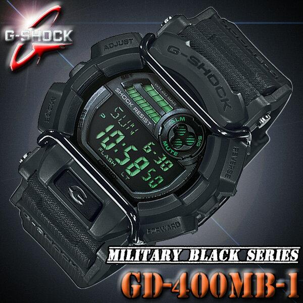 CASIO G-SHOCK GD-400MB-1カシオ Gショック 腕時計 ブラック 黒【防水】Gライド G-LIDE【国内品番 GD-400MB-1JF】海外モデル【新品】『宅配便』で全国*送料無料*