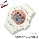 SALE!CASIO GMD-S6900MC-7 S Series カシオ G-SHOCK Gショック 腕時計 Sシリーズ 限定モデル オフホワイト×ピンクゴ…