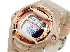 在庫有り!即納可【あす楽対応】CasioカシオBaby-GベビーGBG-169G-4レディース腕時計ベージュ×ピンクゴールド【国内BG-169G-4JFと同型】海外モデル【楽ギフ_包装】【新品】