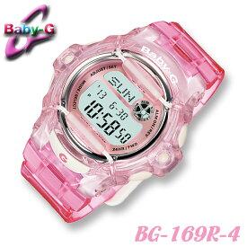 Casio Baby-G BG-169R-4 カシオ ベビーG レディース 腕時計 20気圧防水 クリアスケルトンピンク【Reef】リーフ 海外モデル【新品】*送料無料*(北海道・沖縄は一部ご負担)