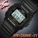 CASIO G-SHOCK DW-5600E-1V カシオ Gショック 防水 耐衝撃 ショックレジスト デジタル 腕時計 黒 ブラック【スピード…