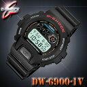 CASIO G-SHOCK DW-6900-1V カシオ G-SHOCK Gショック デジタル 腕時計 黒 ブラック【防水】海外モデル【新品】