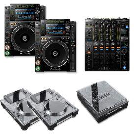 大特典付 CDJ-2000NXS2 / DJM-900NXS2 デッキセーバーセット