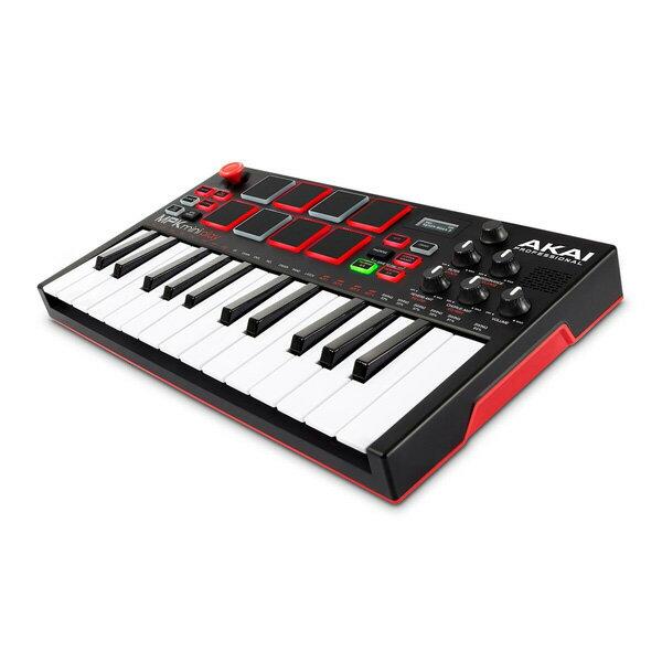 Akai(アカイ) / MPK Mini Play - ポータブル MIDIキーボード・コントローラー -【納期未定】