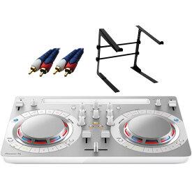 【7大特典付】 Pioneer / DDJ-WeGO4-W (ホワイト) 【rekordbox dj / Virtual DJ LE無償 】 激安定番オススメAセット