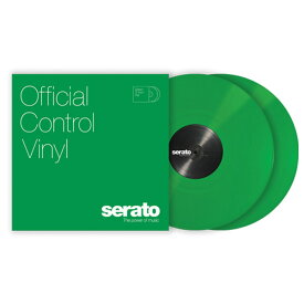 Serato Performance Series Control Vinyl [GREEN] [2LP] 【セラートコントロールトーン収録 SERATO SCRATCH LIVE, SERATO DJ】