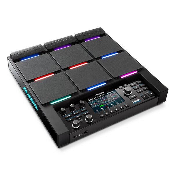 高級ケーブル付き!Alesis(アレシス) / Strike MultiPad [サンプラー&ルーパー付きパーカッション・パッド]【12月24日発売予定】