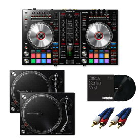 8大特典付 Pioneer / DDJ-SR2 【Serato DJ Pro+P'NT DJ無償】 PLX-500-K DVSセット