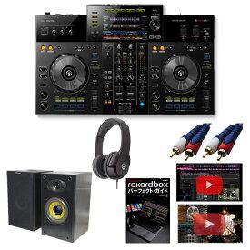 6大特典付 Pioneer (パイオニア) / XDJ-RR 【rekordbox dj無償対応】ヘッドホン&スピーカー付き!初心者セット