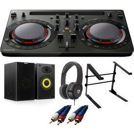 【14大特典付】 Pioneer / DDJ-WeGO4-K (ブラック) 【rekordbox dj / Virtual DJ LE無償 】 激安定番Aセット