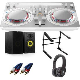 【14大特典付】 Pioneer / DDJ-WeGO4-W (ホワイト) 【rekordbox dj / Virtual DJ LE無償 】 激安定番Aセット