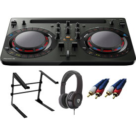 【13大特典付】 Pioneer / DDJ-WeGO4-K (ブラック) 【rekordbox dj / Virtual DJ LE無償 】 激安定番Cセット