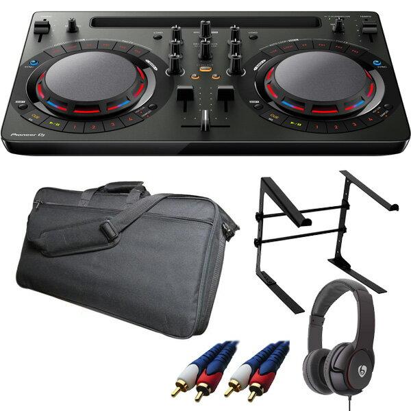 【14大特典付】 Pioneer / DDJ-WeGO4-K (ブラック) 【rekordbox dj / Virtual DJ LE無償 】 激安定番モバイルCセット