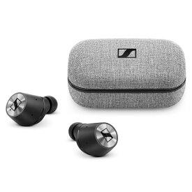 SENNHEISER / MOMENTUM True Wireless (BLACK) Bluetooth対応 完全ワイヤレスイヤホン 直輸入品 【ゼンハイザー】 トゥルーワイヤレス