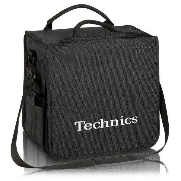 Technics BackBag (Black/Silver) 【レコード約60枚収納可】 レコードバッグ テクニクス