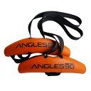 Angles90 (グリップ2点 + カラビナ1点) トレーニング用アタッチメント チンニング(懸垂) デッドリフト ラットプルダ…
