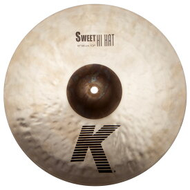 "Zildjian(ジルジャン) / ""K Sweet Collection"" Sweet HiHat 14″ K0721 (TOP) [NKZL14SW.HHT] ハイハット トップ"