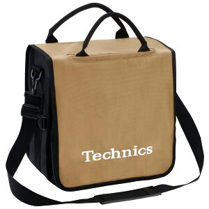 Technics / BackBag (Gold/White) 【レコード約60枚収納可】 レコードバッグ 【テクニクス】