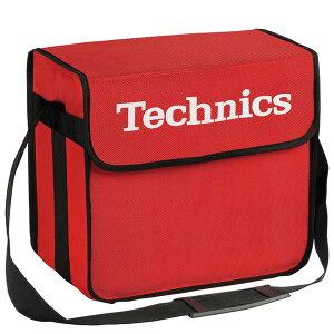Technics(テクニクス) / DJ Bag (RED) 【約60枚レコード収納】 DJレコードバッグ