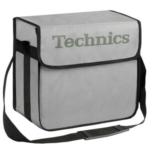 Technics(テクニクス) / DJ Bag (Silver) 【約60枚レコード収納】 DJレコードバッグ