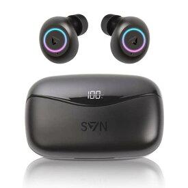 1大特典付 SVN sound by Steve Aoki / NEON 200 Bluetooth5.0対応 IPX5防水仕様 完全ワイヤレスイヤホン