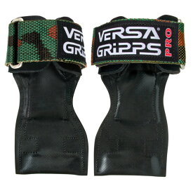 Versa Gripps(バーサグリップ) / PRO CAMOUFLAGE Sサイズ (約15〜17cm) パワーグリップ トレーニングアクセサリー 【正規販売店・正規品】