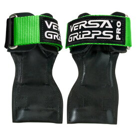 Versa Gripps(バーサグリップ) / PRO LIME GREEN Lサイズ (約18〜20cm) パワーグリップ トレーニングアクセサリー 【正規販売店・正規品】