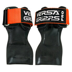 Versa Gripps(バーサグリップ) / PRO ORANGE XLサイズ (約20cm〜) パワーグリップ トレーニングアクセサリー 【正規販売店・正規品】
