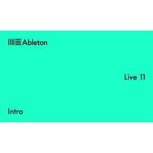 2大特典付 ableton(エイブルトン) / Live 11 Intro (ダウンロード版用シリアルコード記載用紙のみ)