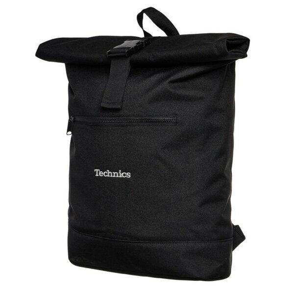 Technics(テクニクス) / Roll Top Backpack (レコード/laptop など収納可能) バッグパック
