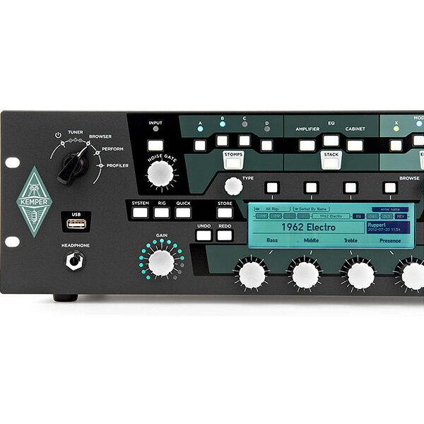 2大特典付 KEMPER(ケンパー) / KEMPER PROFILER RACK - ギターアンプ ラック式 - 【フレンズ厳選Rig音源USB&Belden高品質アンプケーブルプレゼント!】