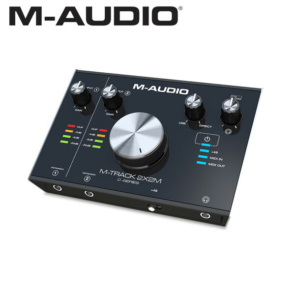 M-Audio(エム・オーディオ) M-TRACK 2x2M オーディオ・インターフェース