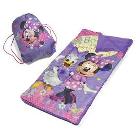 Disney(ディズニー) / Minnie Mouse Bag Set - 子供用 ミニーマウスの寝袋(袋付き) 直輸入品