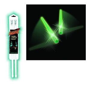 Firestix / 光るドラムスティック GMFX12GR Scramming Green グリーン パリピグッズ / ファイアースティックス
