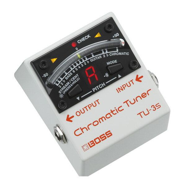 Boss(ボス) / TU-3S ChromaticTuner - チューナー -