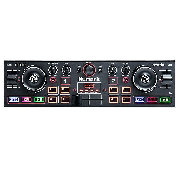 3大特典付 Numark(ヌマーク) / DJ2GO2 【Serato DJ Lite 無償】 - PCDJコントローラー -