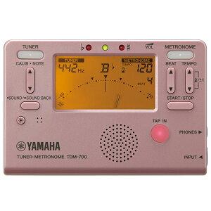 YAMAHA(ヤマハ) / TDM-700P(ピンク) - チューナーメトロノーム -