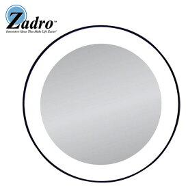 Zadro(ザドロ) LED15X (Black) 《ライト付き拡大鏡》 [鏡面 直径 10cm] 【15倍率】 吸盤付ミラー